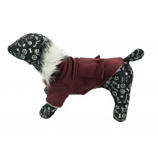 Kutyaruha | Bársonykabát | Bordó
