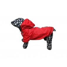 Kutyaruha | Nunbell | Bélelt Esőkabát | Piros