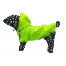 Kutyaruha | Nunbell | Bélelt Esőkabát | Neon zöld
