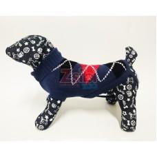 Kutyaruha | Nunbell | Kötött NW | Kék kockás
