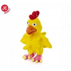 JK Animals | Kutyajáték | Csirke | Sípolós | 13 cm