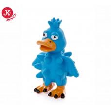 JK Animals | Kutyajáték | Kék Kacsa | Sípolós | 13 cm