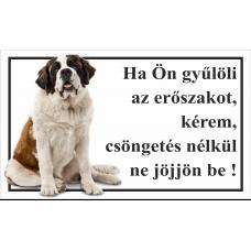 Kutyatábla | Bernáthegyi | 25x15 cm