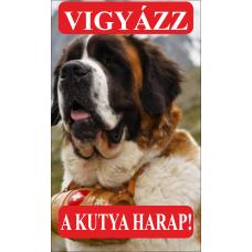 Kutyatábla | Bernáthegyi  4 | 25x15 cm