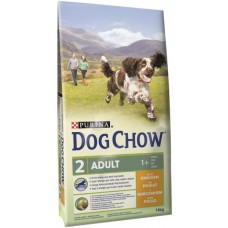 Dog Chow | Felnőtt | Csirke & Rizs | 14 kg