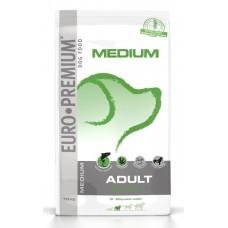 Euro Premium | Medium | Felnőtt | Derma+ | Lazac & Burgonya | 12 kg