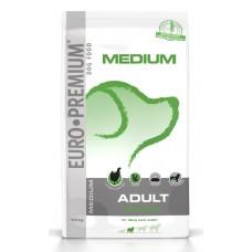 Euro Premium | Medium | Felnőtt | Gluténmentes | Csirke & Burgonya | 10 kg