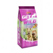 Panzi   Get Wild   Kölyök   Csirke & Hal   15 kg