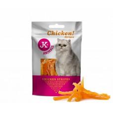 JK Animals | Cica Jutalomfalat | Csirkehús csíkok | 50g