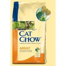 Cat Chow | Adult | Csirke & Pulyka | 15 kg