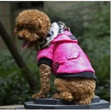 Kutyaruha | Petsoo | Classic | Téli | Rózsaszín