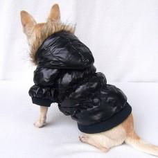 Kutyaruha | Petsoo | Vízálló Kabát | Fekete