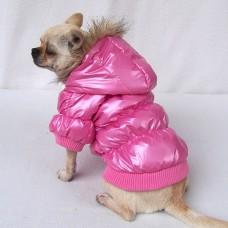 Kutyaruha | Petsoo | Vízálló Kabát | Rózsaszín